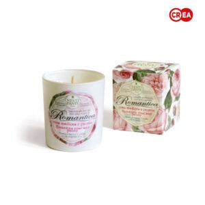 NESTI - ROMANTICA - Candela 30h Rosa-Peonia