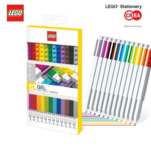 LEGO 2.0 - Gel PENs - 12 Pz