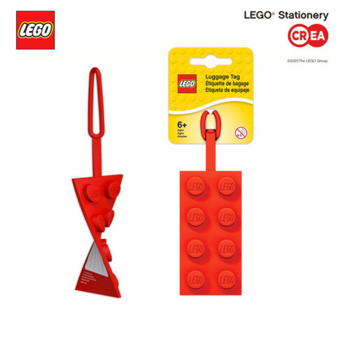 Tag Silicone Rossa - retro segnanome - h 10 cm