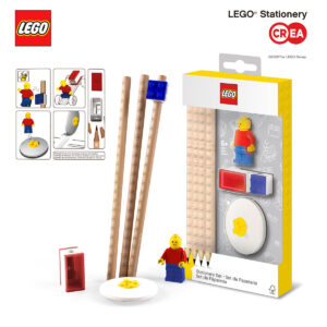 STATIONARY SET C/MINIFIGURE
