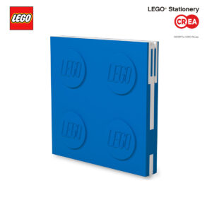 Locking Notebook - Blu