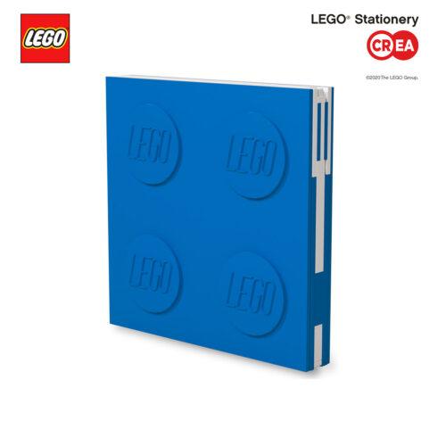 Locking Notebook - Blu