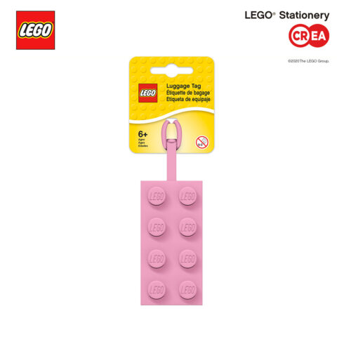 LEGO 2.0 - TAG Silicone Rosa