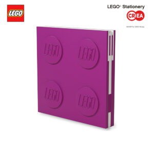 Locking Notebook - Fuxia