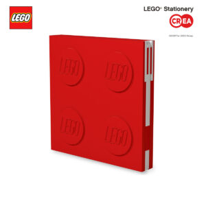 Locking Notebook - Rosso