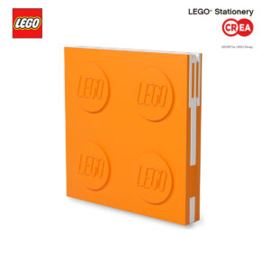 Locking Notebook - Arancio