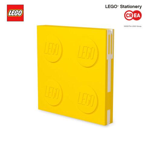 Locking Notebook - Giallo