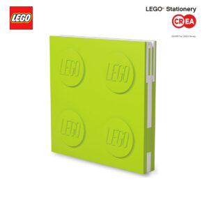 Locking Notebook - Lime