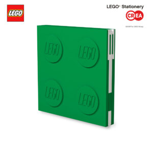 Locking Notebook - Verde