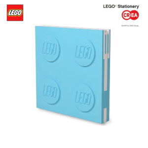Locking Notebook - Azzurro