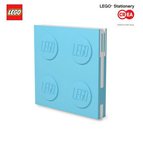 Locking Notebook - Azzurro