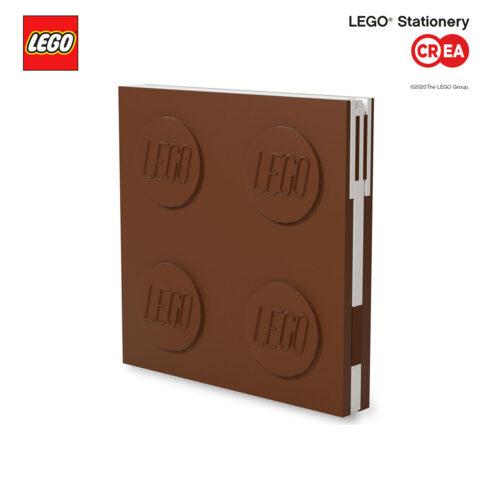 Locking Notebook - Marrone