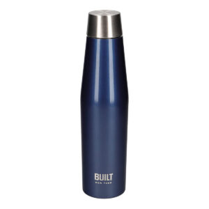 BUILT - Borraccia Inox DP 540 ml - Metal Dark Blu