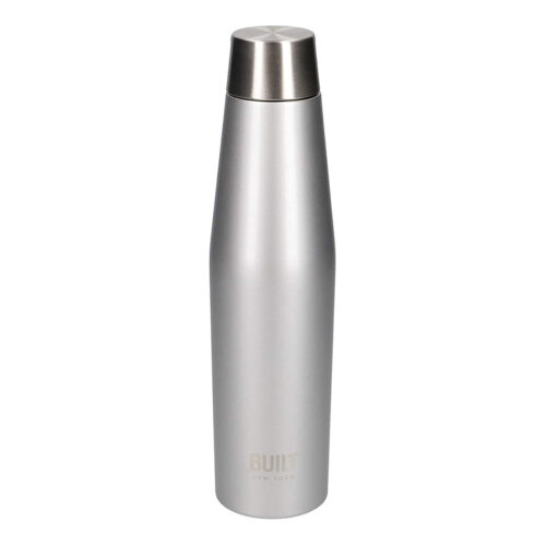 BUILT - Borraccia Inox DP 540 ml - Metal Argento