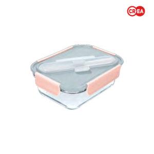 BUILT - Contenitore Pranzo Mindful Vetro 900ml + Posate