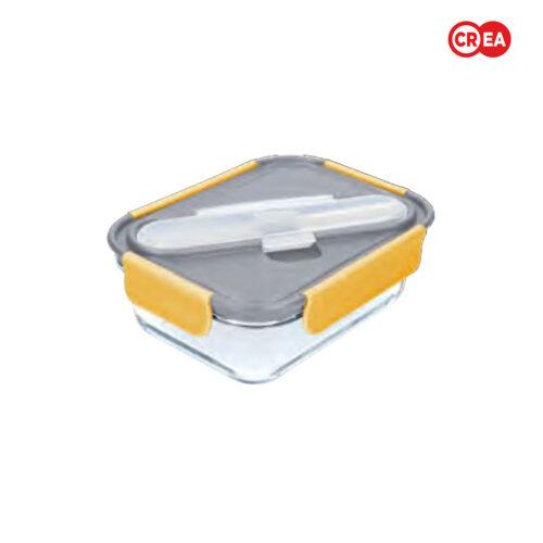 BUILT - Contenitore Pranzo Stylist Vetro 900ml + Posate
