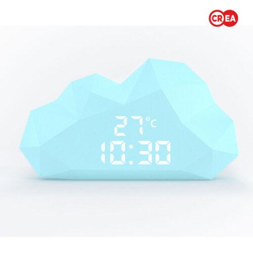 MOB - CUTTY CLOUD CLOCK - Azzurro
