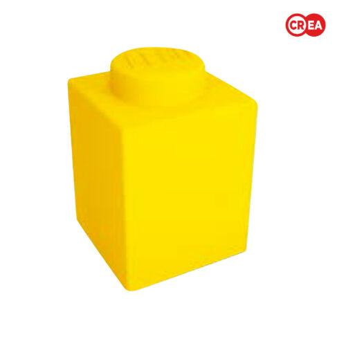 LEGO - Lampada LED Soft Touch Gialla