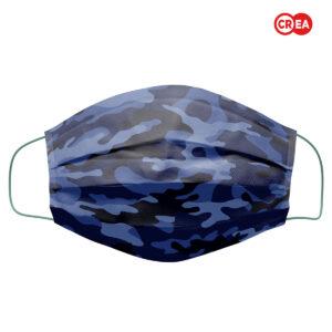 MFAD - MASCHERINA CAMOUFLAGE BLUE