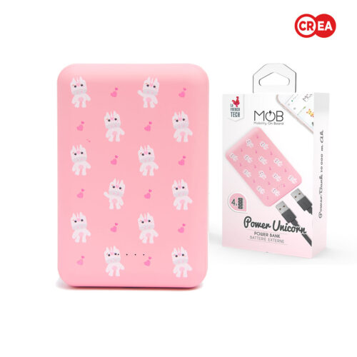 MOB - POWERBANK 10000 mAh - UNICORN