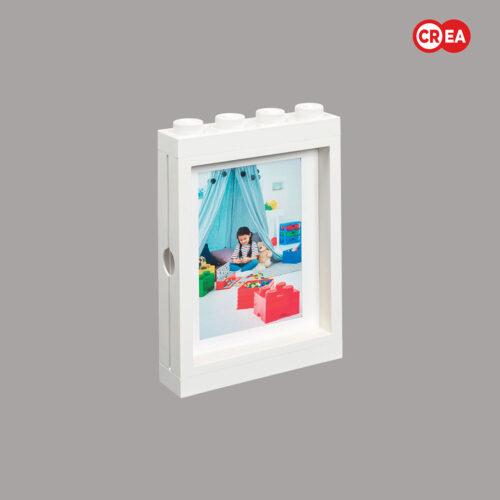 LEGO - Portafoto da Muro - Bianco
