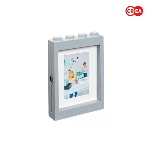 LEGO - Portafoto da Muro - Grigio