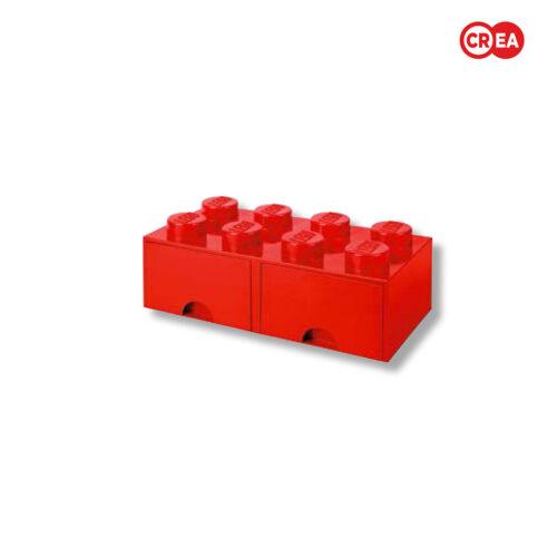 LEGO - Storage Grande 8 Maxi -  Rossa