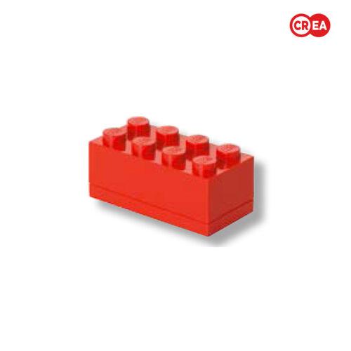LEGO -Mini Box 8 - Rosso
