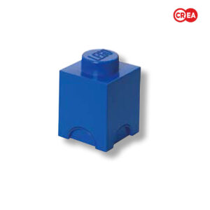 LEGO - Storage Brick 1 Quadr. Blu