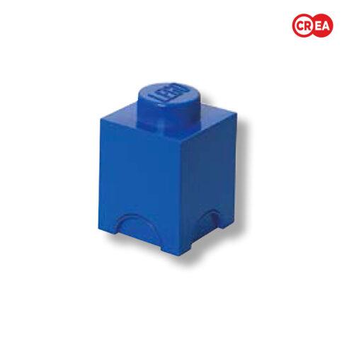LEGO - Storage Brick 1 Quadr. Blu