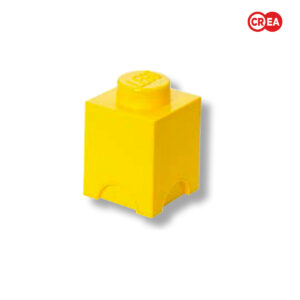 LEGO - Storage Brick 1 Quadr. Giallo