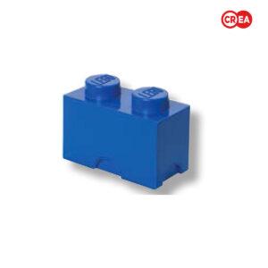 LEGO - Storage Brick 2 - Blu