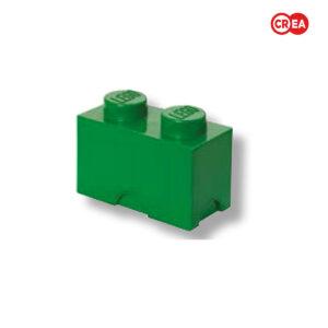 LEGO - Storage Brick 2 - Verde