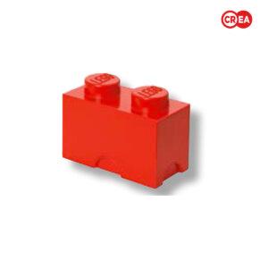 LEGO - Storage Brick 2 - Rosso
