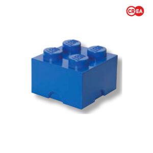 LEGO - Storage Brick 4 - Blu