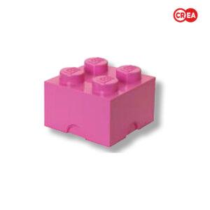 LEGO - Storage Brick 4 - Fuxia