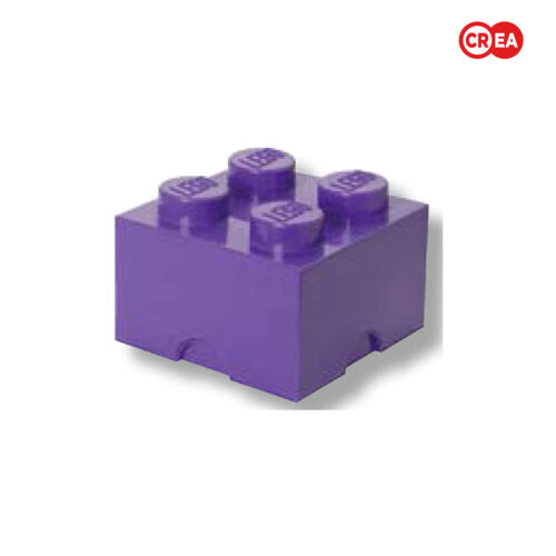 LEGO - Storage Brick 4 - Viola