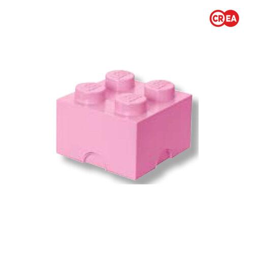 LEGO - Storage Brick 4 - Rosa