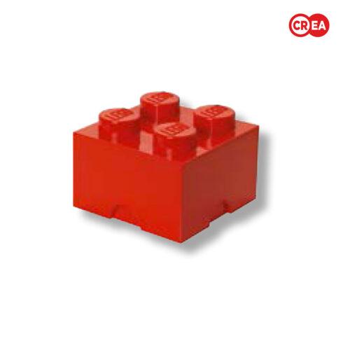 LEGO - Storage Brick 4 - Rosso