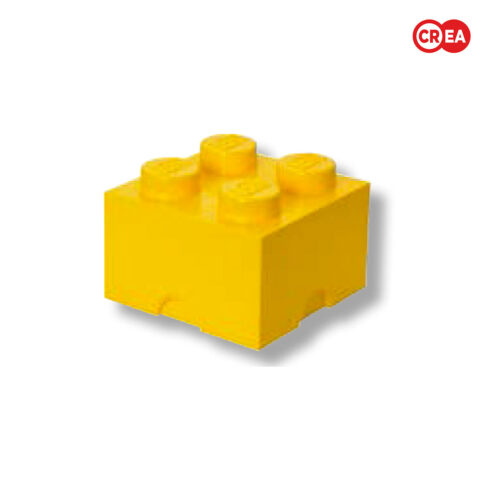LEGO - Storage Brick 4 - Giallo