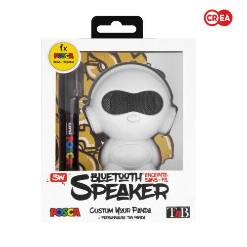TNB - SPEAKER PANDA ROBOT + POSCA
